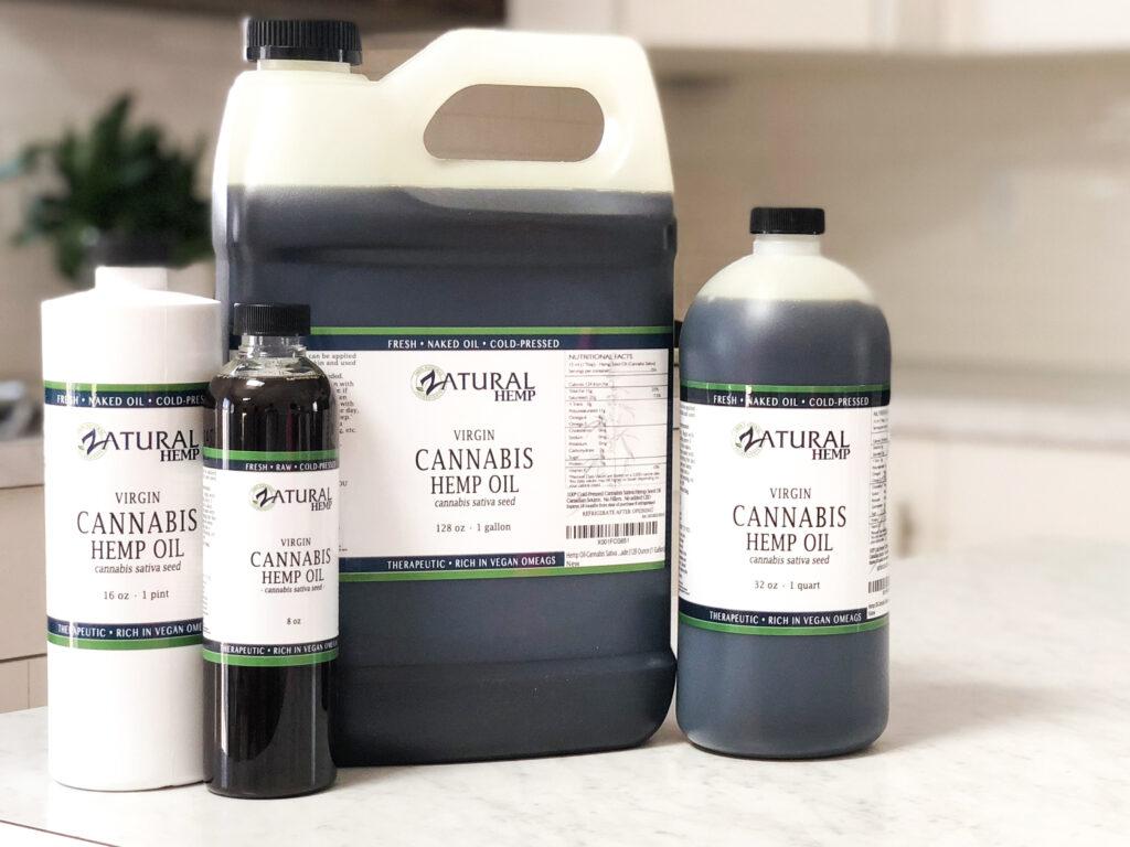 Custom Hemp Labels for Oils