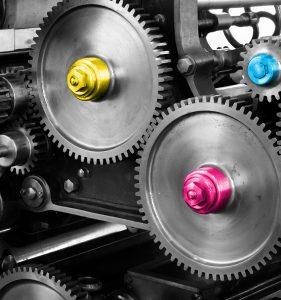 Label Printing Press