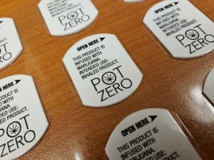Hemp Stickers to Leverage Marketing Labels