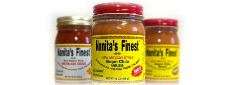 Nanita's Finest Salsa Food Label